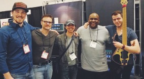 Derrick Elliott, Mike Pope, Adam Nitti, Robert Harper and me!